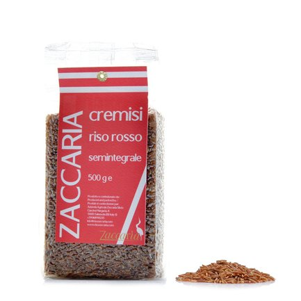 Riz rouge semi-complet 500g