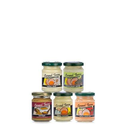 Assortiment de sauces 5x120g