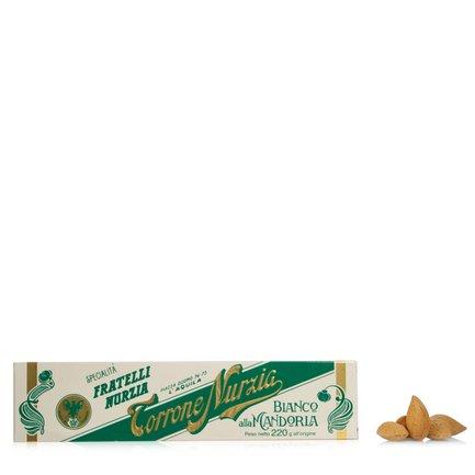 Nougat blanc aux amandes 220 g