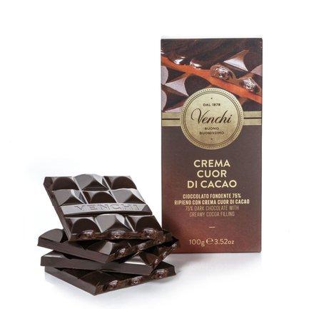 Tablette fourée Cuor Di Cacao 110 g