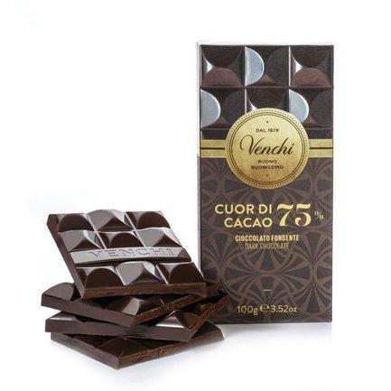 Tablette de chocolat extra noir 75 % 100 g