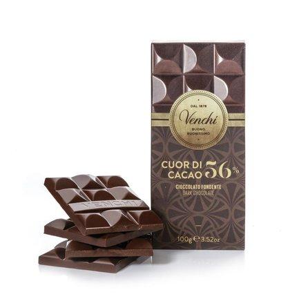 Tablette de chocolat extra noir 56%  100g