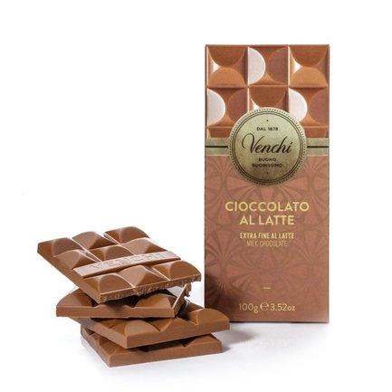Tablette de chocolat au lait extra 100 g