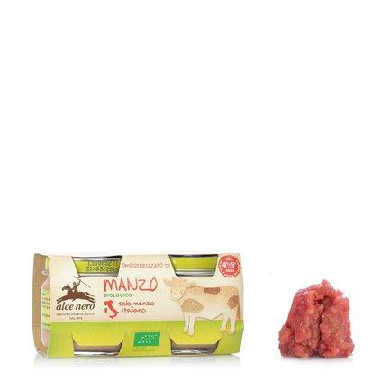 Pot pour bébé Viande de bœuf 2 x 80 g