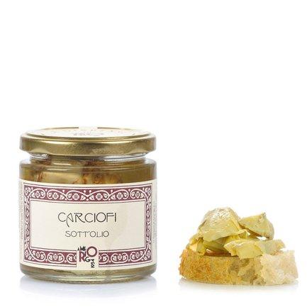 Artichauts à l'huile 210g