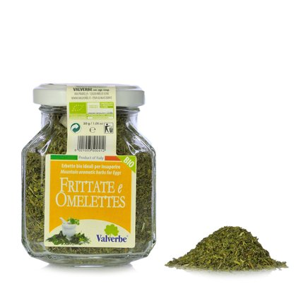 Herbes aromatiques bio Frittate & Omelettes 30 g