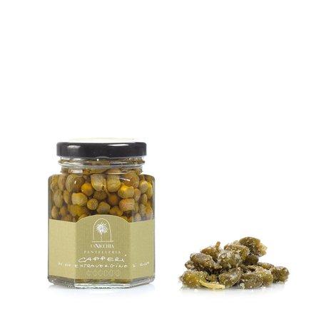 Câpres à l'huile d'olive extra vierge 110 g
