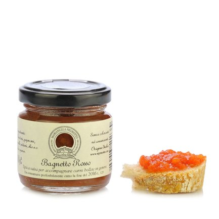 Sauce bagnetto rouge 110 g