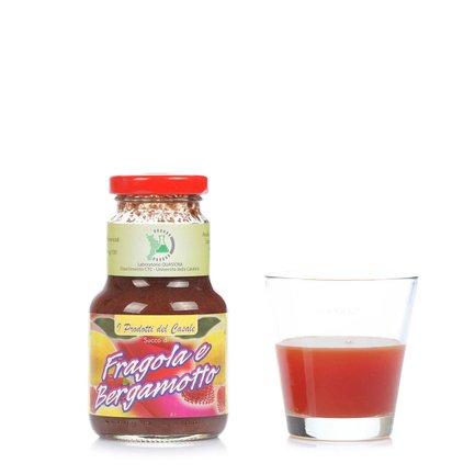 Jus de fraise et bergamote 200 ml