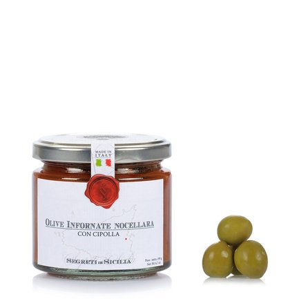 Olives Nocellara au four 190 g