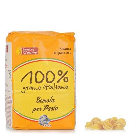 Semoule pour pâtes 100 % blé Italien 1 kg