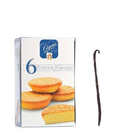 Tartelettes Tortine Paradiso 6 X 46 g