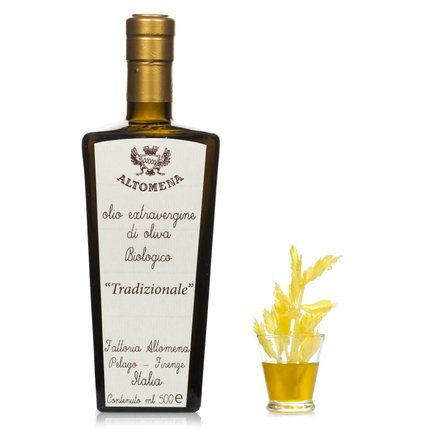 Huile d'live extra vierge traditionnelle 0,5l