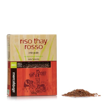 Riz rouge thay biologique 500 g