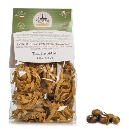 Tagliatelles aux œufs aux olives de la variété taggiasca 250g