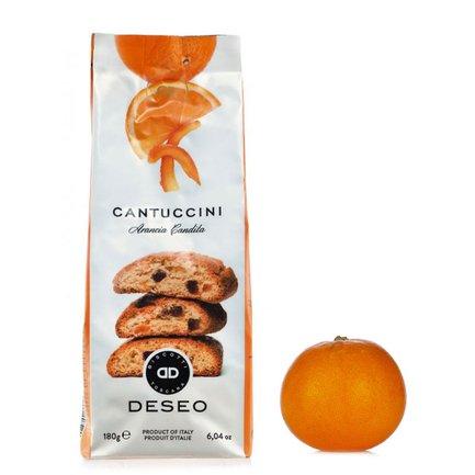 Cantuccini à l'orange confite 180g