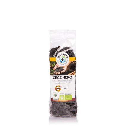 Pois chiches noirs de Murgia Carsica 250 g 250g