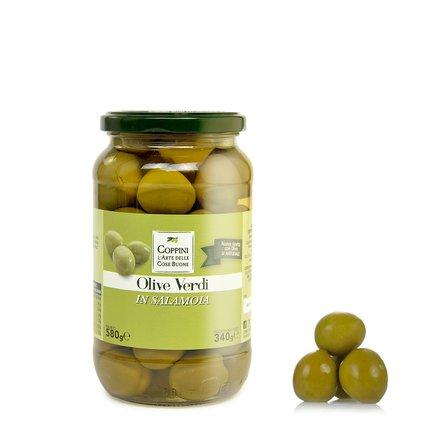 Olives en saumure  580gr