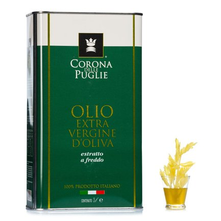 Huile d'olive extra vierge fruitée intense 3 l
