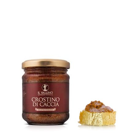 Crème à tartiner Crostino di caccia 180 g