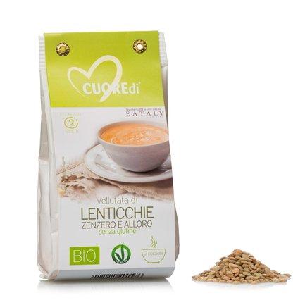 Velouté biologique lentille gingembre et laurier 80g