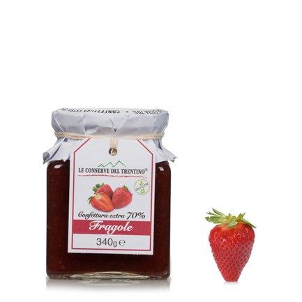 Confiture extra de fraises 340g