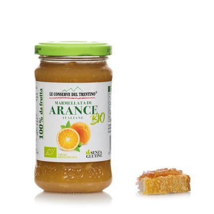 Marmelade d'orange biologique 250 g