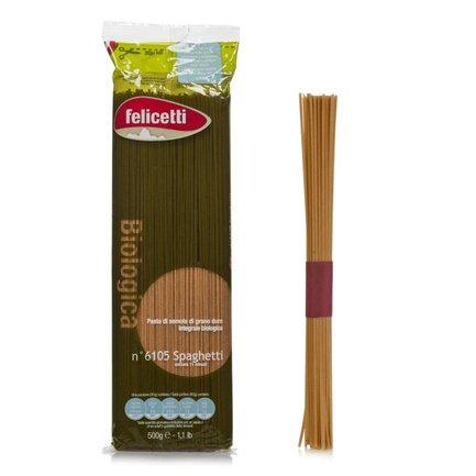 Spaghetti biologiques au blé complet 500g