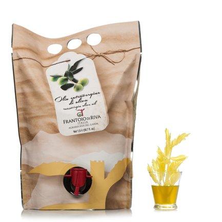 Huile d'olive extra vierge Italico en sachet souple 1,5l
