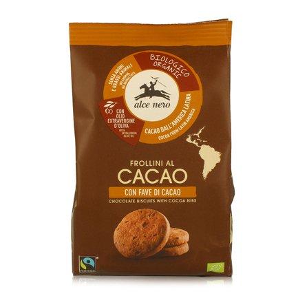 Biscuits au cacao avec fèves de cacao 250g 250g