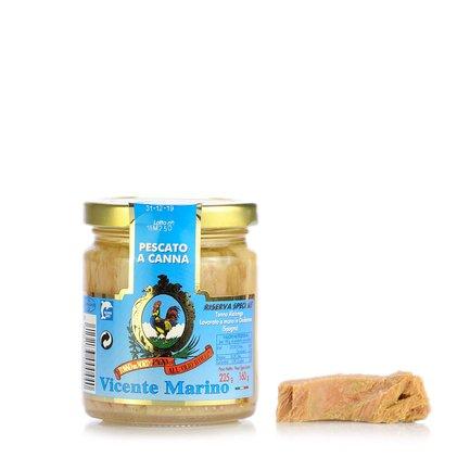 Filets de thon blanc à l'huile 225 g