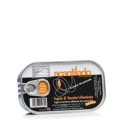 Foie de Bacalao Fumé 120 g