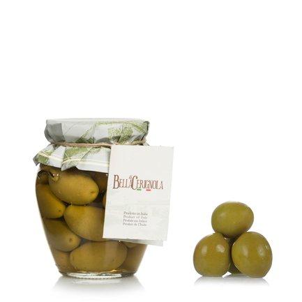 Olives vertes de Cerignola en saumure 1,7Kg