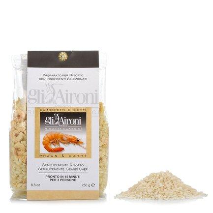 Risotto aux crevettes et curry 250 g