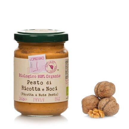 Pesto ricotta et noix 140g