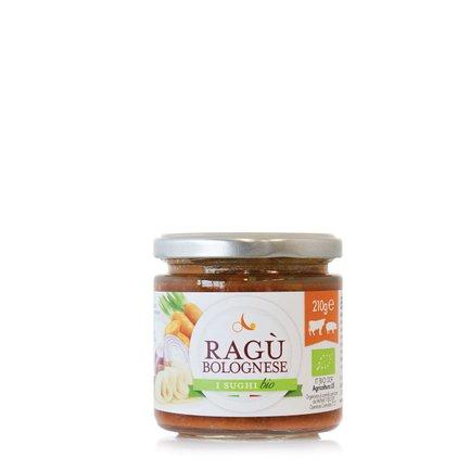 Ragoût à la Bolognaise biologique 210 g