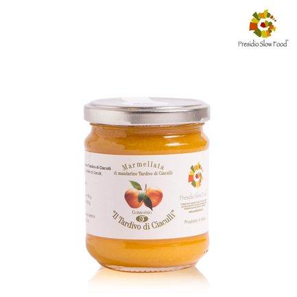 Marmelade de mandarines tardives de Ciaculli 220g 220g