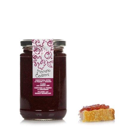 Confiture de prunes et de gingembre  340g