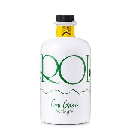 Huile vierge extra d'olive crue Gaaci AOP Riviera ligure 0,5 l