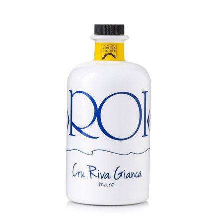 Huile vierge extra d'olive crue Riva Gianca AOP Riviera ligure 0,5 l