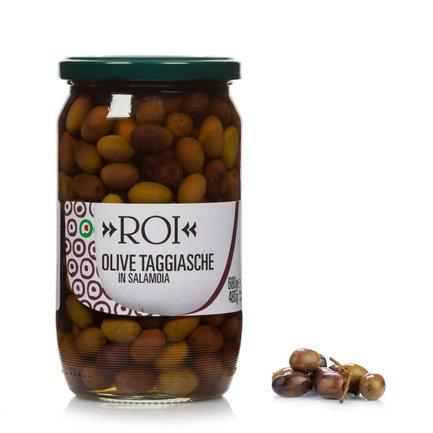 Olives noires taggiasche en saumure 680 g