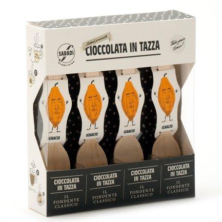 Chocolat fondant extra noir pour boisson