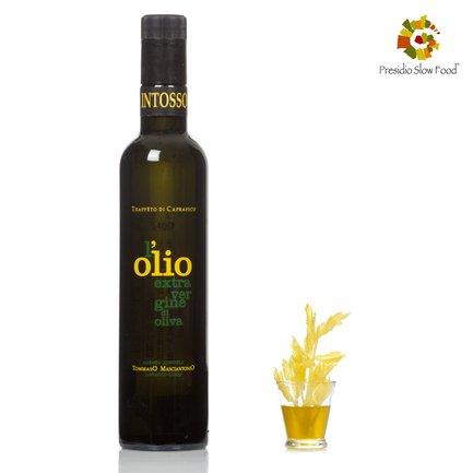 Huile d'olive extra vierge mono variété Intosso 0,5l