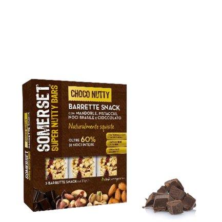 Barre amandes pistaches chocolat 3x35g