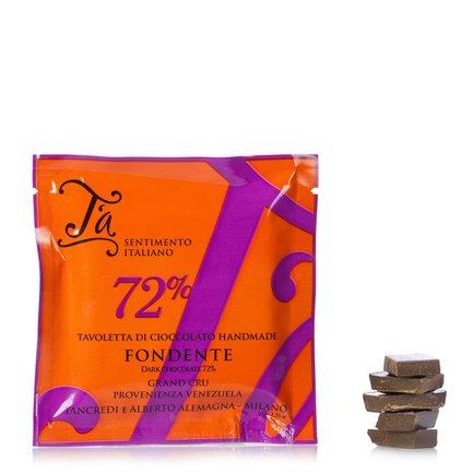 Tablette de chocolat noir 72 %  50g