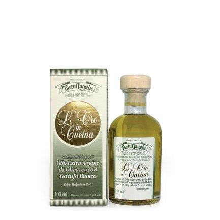 Huile d'Olive Extra Vierge à la Truffe Blanche 100 ml