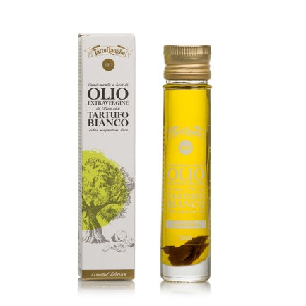 Huile d'olive extra vierge et truffe blanche biologique 50 ml