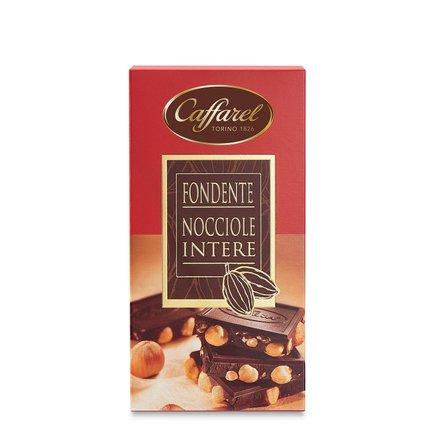 Tablette de chocolat noir aux noisettes 150 g