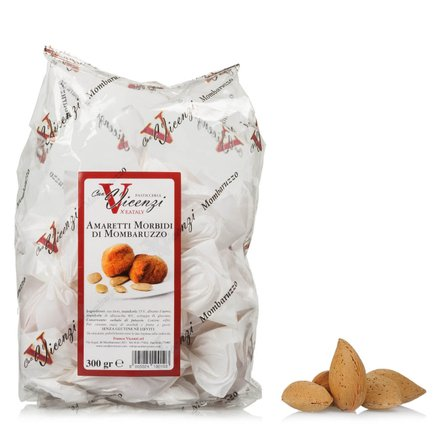Amaretti moelleux double emballage 300 g