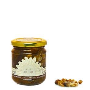 Champignons à l'huile d'olive extra vierge 185 g
